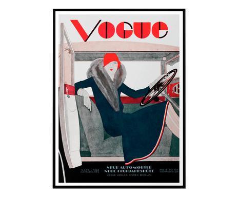 Tablou Vogue Vintage VII, 50 x 70 cm
