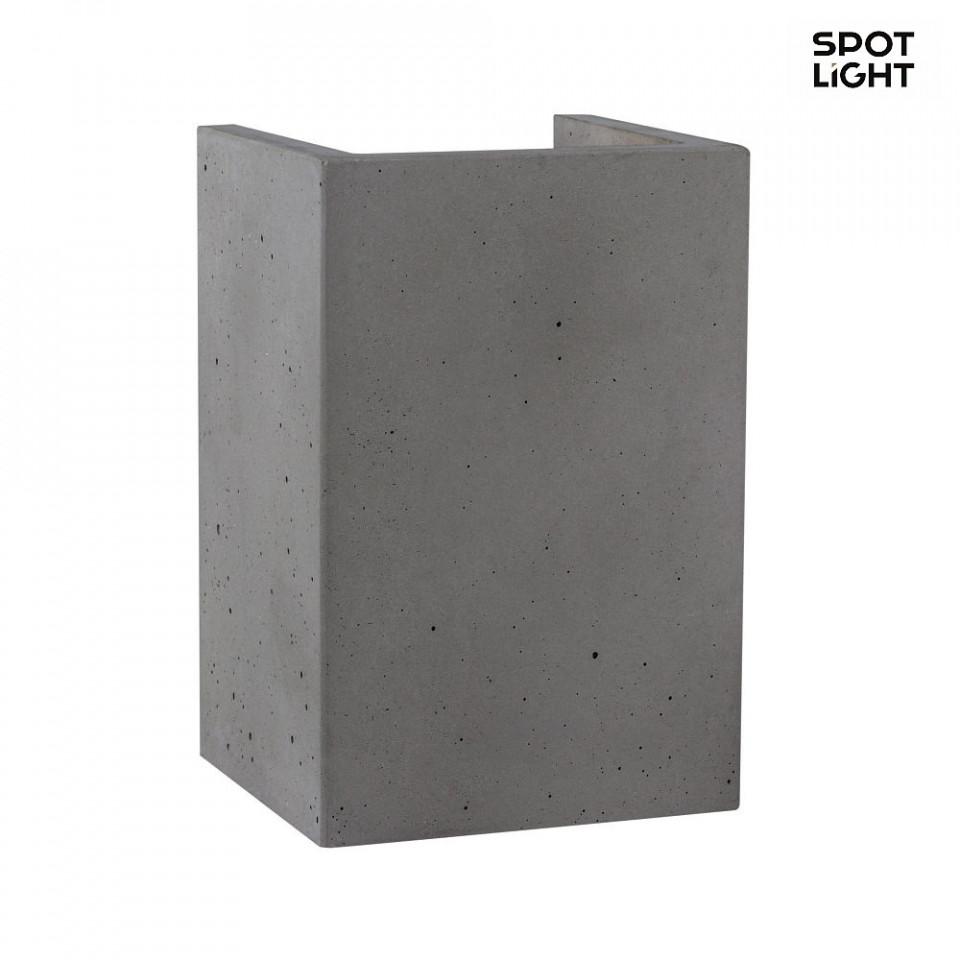 Aplica, beton, gri, 10 x 15 x 9 cm imagine 2021 chilipirul zilei