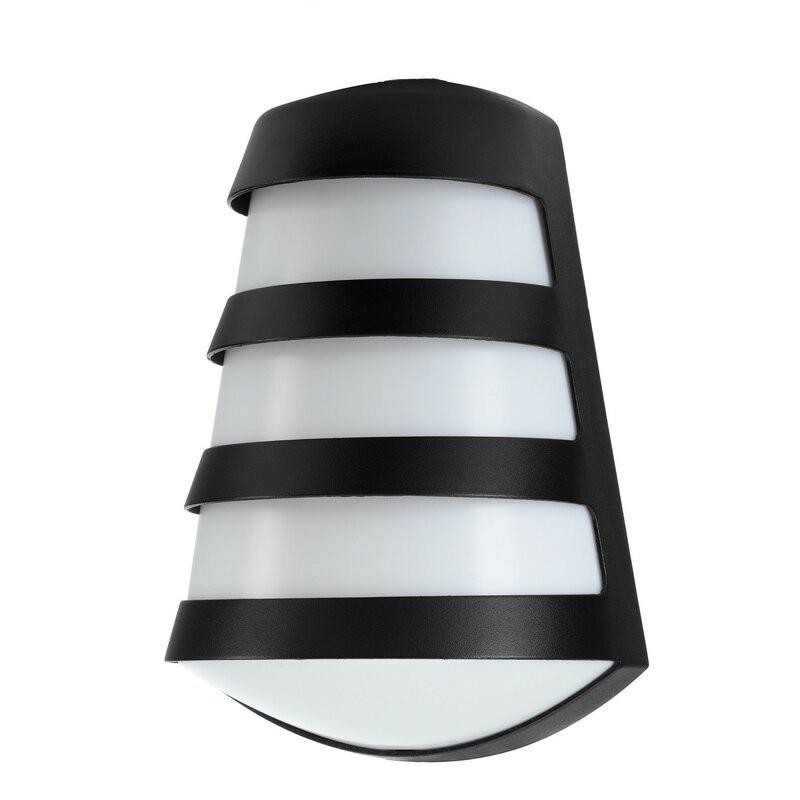 Aplica de exterior Gaskin, alb / negru, 28 x 19 cm