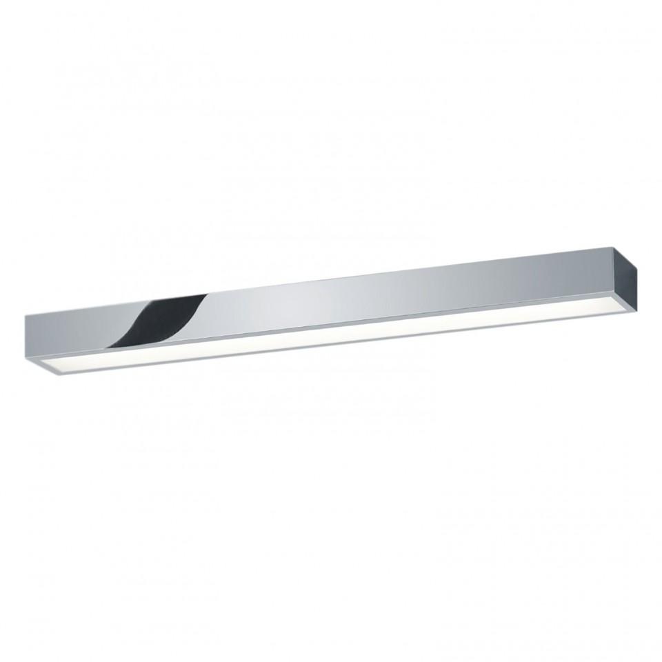 Aplica LED Theia sticla acrilica/cromat, alb, 1 bec, dreptunghiular, latime 60 cm poza chilipirul-zilei.ro