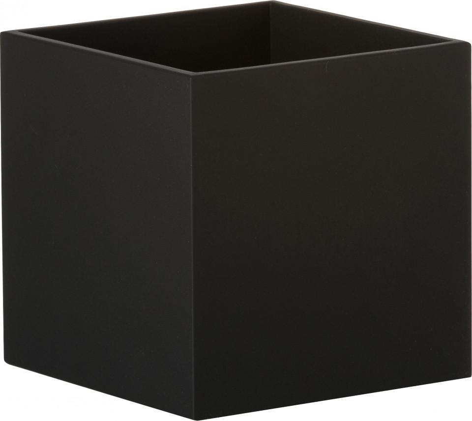 Aplica Quad, neagra, 10 x 10 x 12 cm, 40w imagine 2021 chilipirul zilei