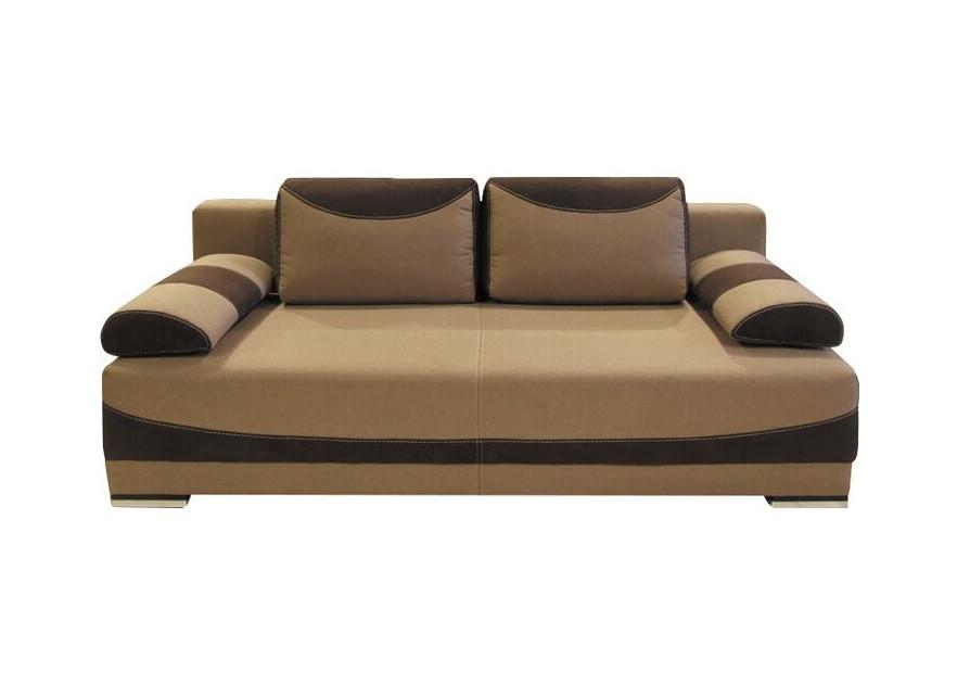 Canapea extensibilă Bavaria, maro inchis/deschis, 70 x 200 x 95 cm 2021 chilipirul-zilei.ro
