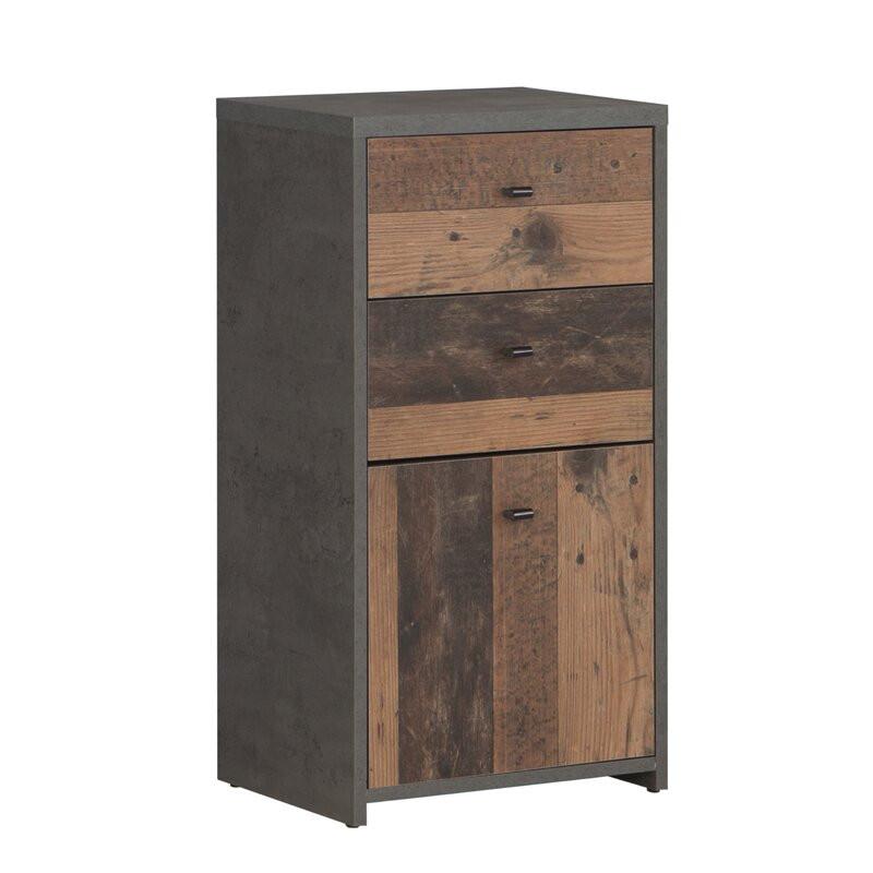 Comoda Legrand 2 din lemn, 77 x 40 cm