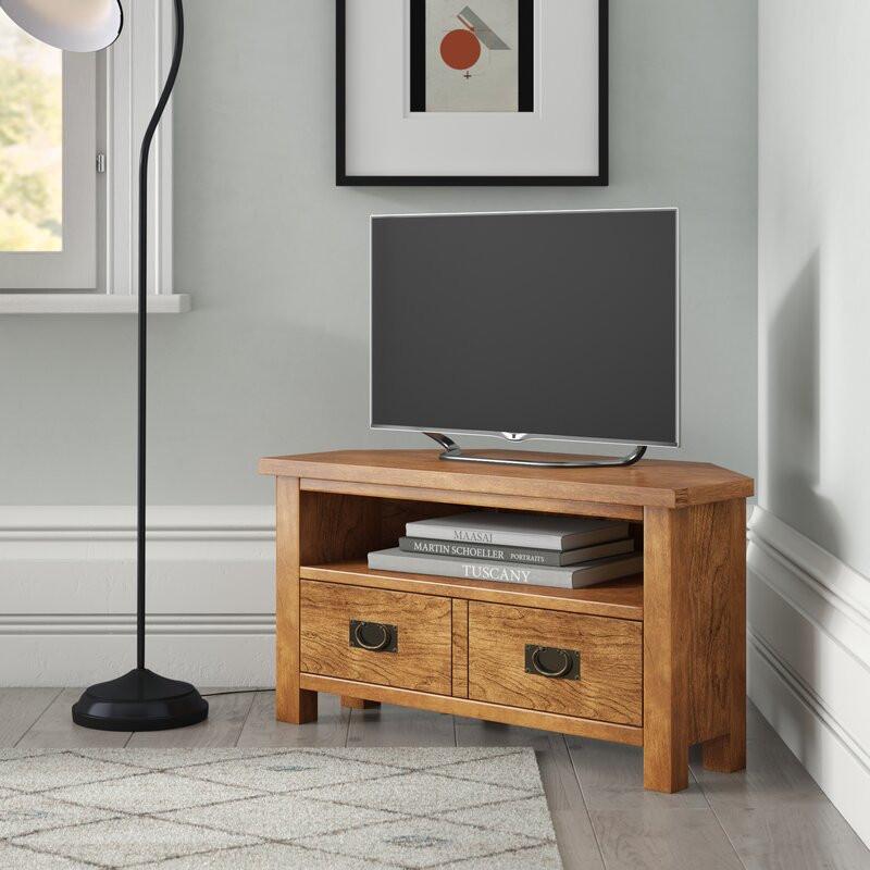 """Comodă TV 40 """" Ates din lemn masiv, 90cm W x 48cm H x 44cm D poza chilipirul-zilei.ro"""