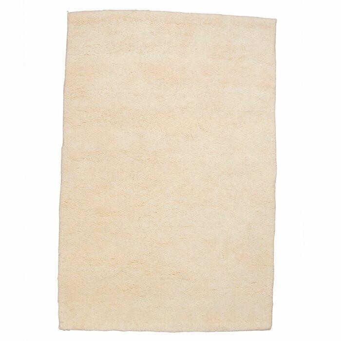 Covor Tofino, lana/bumbac, bej, 200 x 250 cm poza chilipirul-zilei.ro