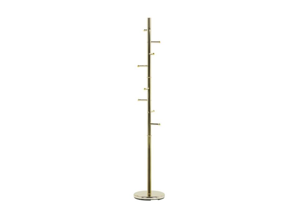 Cuier CLOVIS, metal, auriu, 174 x 30 x 30 cm