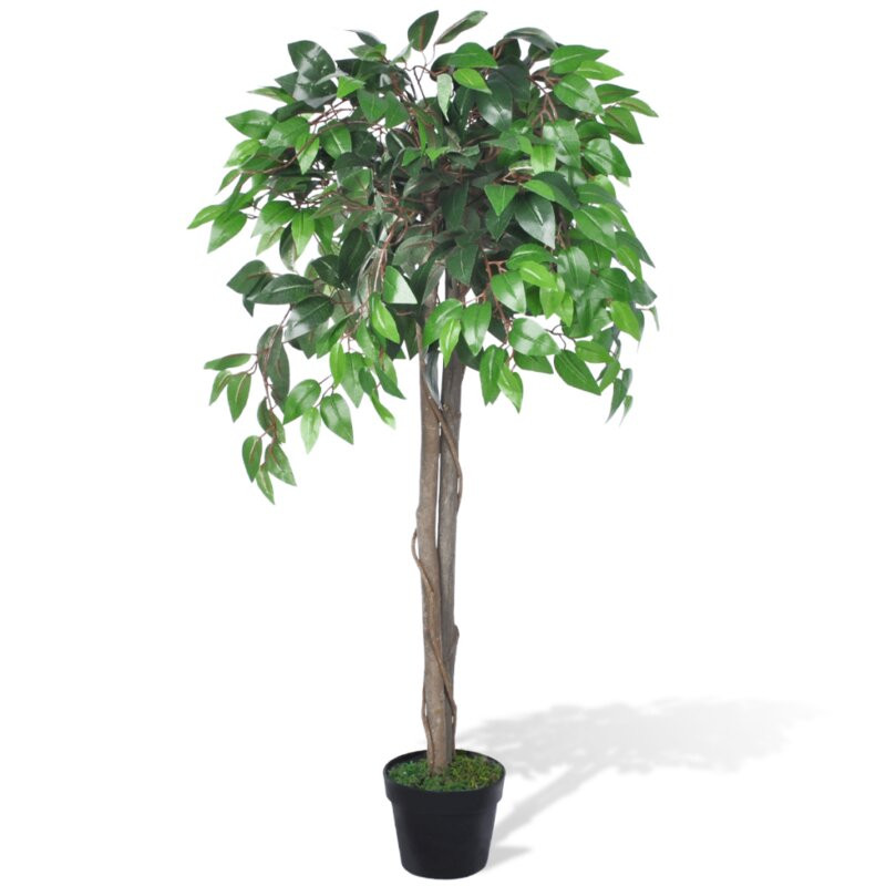 Ficus artificial, 110 cm H imagine chilipirul-zilei.ro