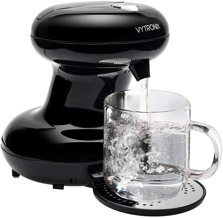 Fierbător instant de apa pentru o cana Vytronix CUP01 negru, 3000 W imagine chilipirul-zilei.ro