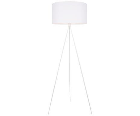Lampadar Cella din metal, alb, H 158 cm