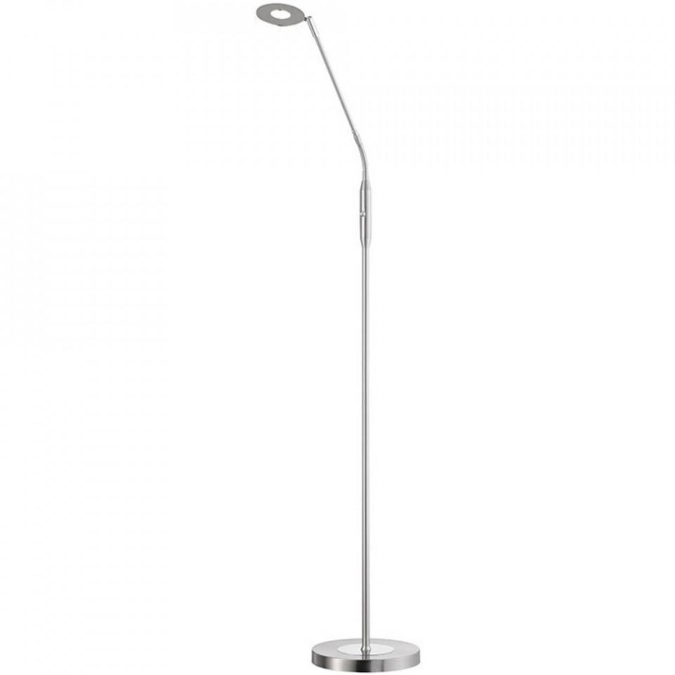 Lampadar Dent I, metal/sticla, argintiu, 150 x 23 x 23 cm, 6w 2021 chilipirul-zilei.ro