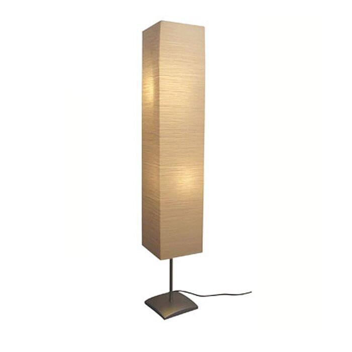Lampadar, metal, bej, 135 x 22 x 22 cm, 40 w imagine 2021 chilipirul zilei
