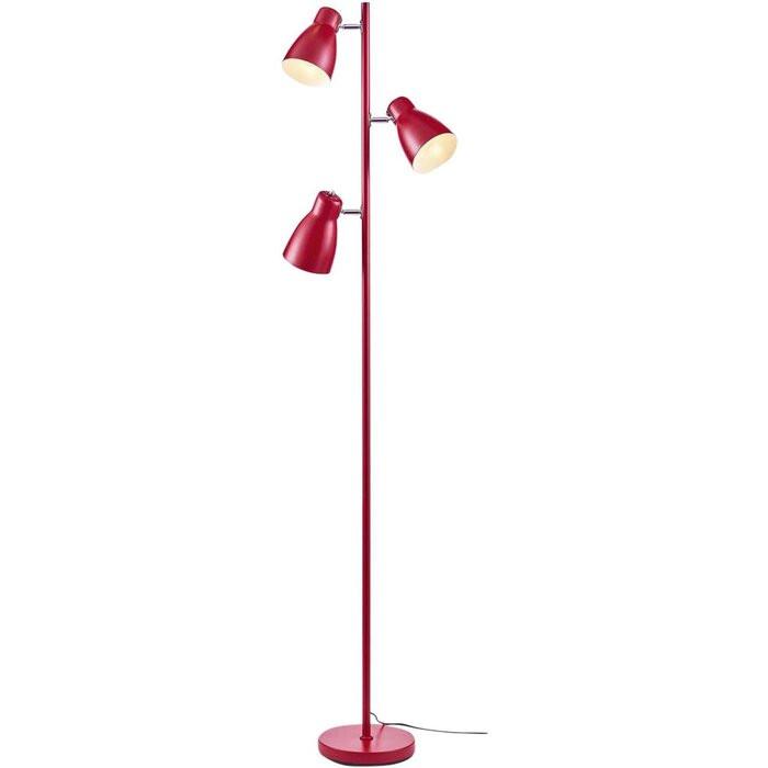 Lampadar Pateley, rosu, 166 x 42 x 42 cm, 40w 2021 chilipirul-zilei.ro