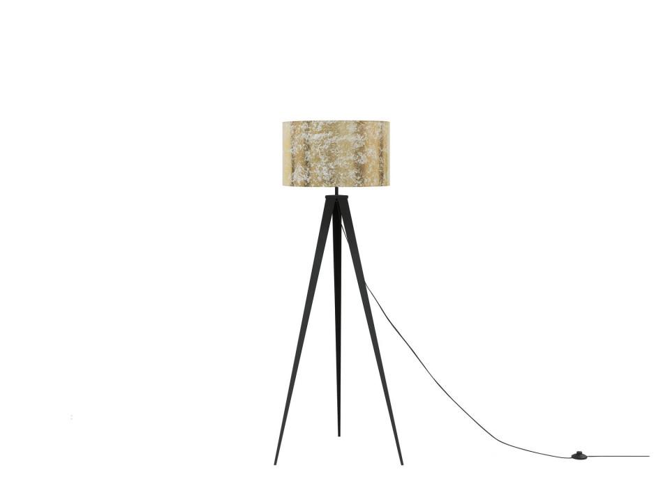 Lampadar STILETTO, metal, auriu, 156 x 50 x 50 cm, 40w 2021 chilipirul-zilei.ro