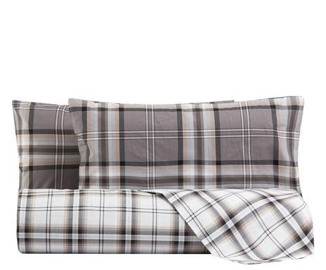 Lenjerie de pat cu husa pentru pilota Kelso carbon, de o persoana