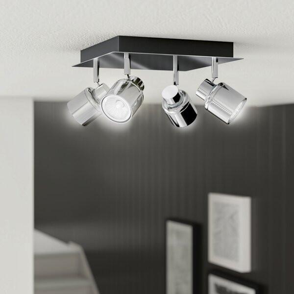 Lustra Laurel, 4 lumini LED, 13 x 24 x 24 cm