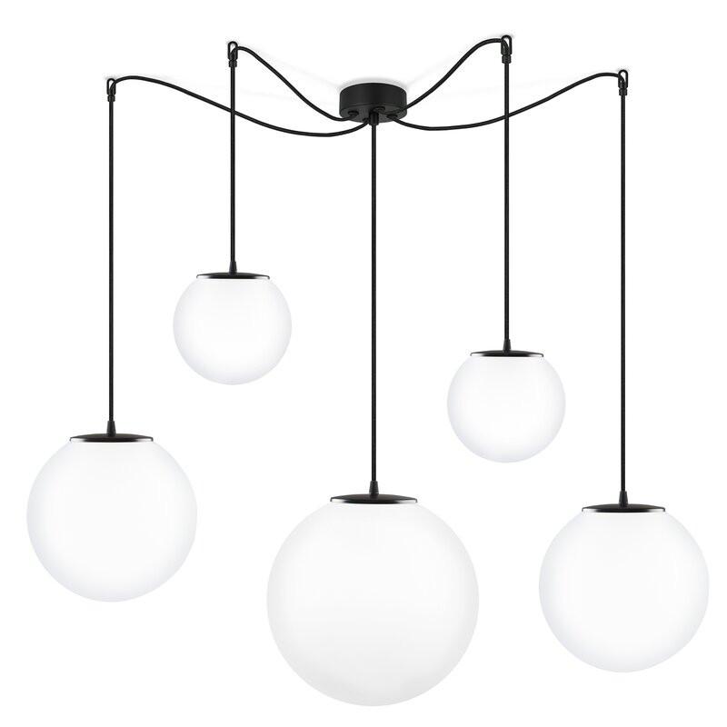 Lustra Bailee cu 5 lumini, 165 x 75 cm