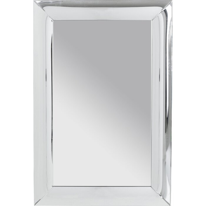Oglinda de perete Bounce, argintie, 120 x 80 x 3,2 cm imagine 2021 chilipirul zilei