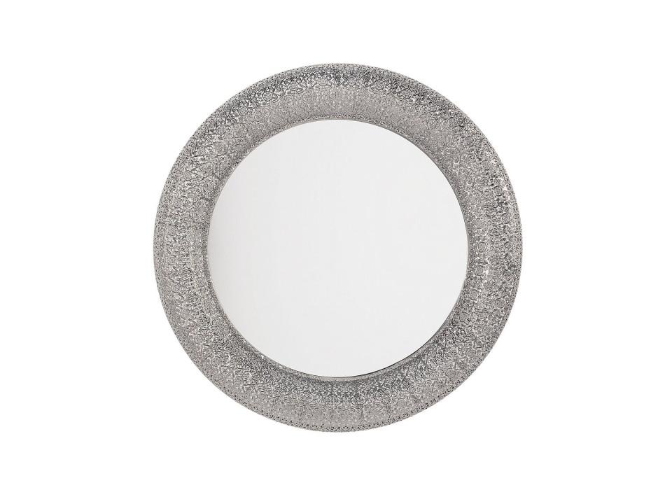 Oglinda de perete CHANNAY, arrgintie, 80 x 80 x 5 cm imagine 2021 chilipirul zilei