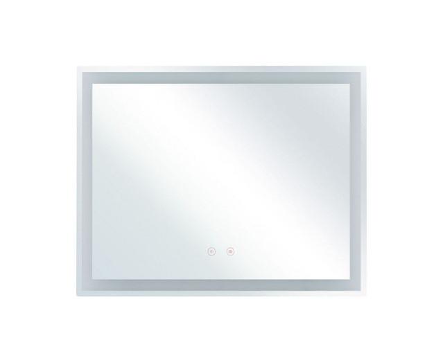 Oglindă LED de perete LANDELEAU, 60 x 80 cm, sistem anti-ceata chilipirul-zilei.ro