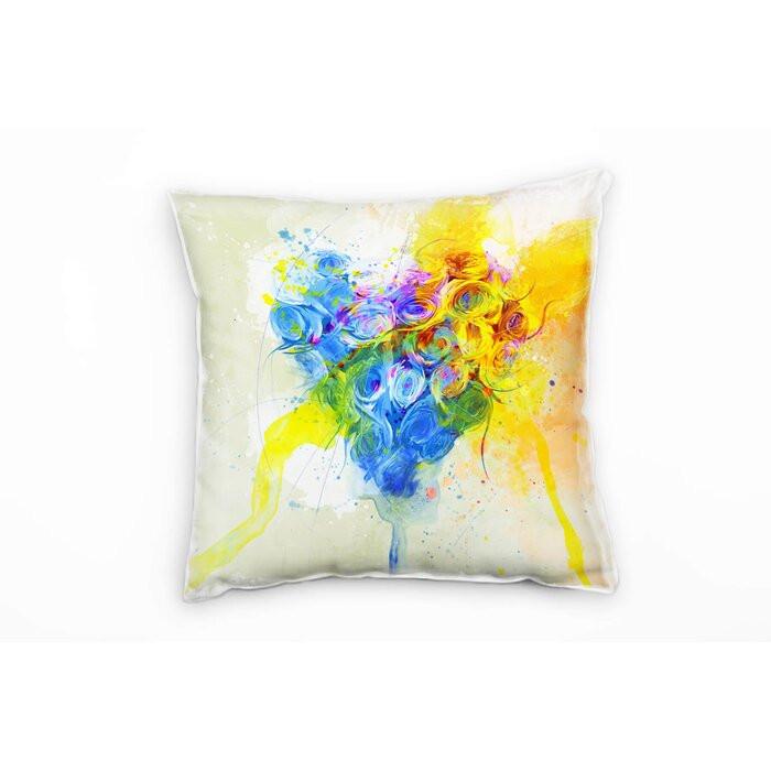Perna decorativa, multicolora, 40 x 40 x 20 cm poza chilipirul-zilei.ro