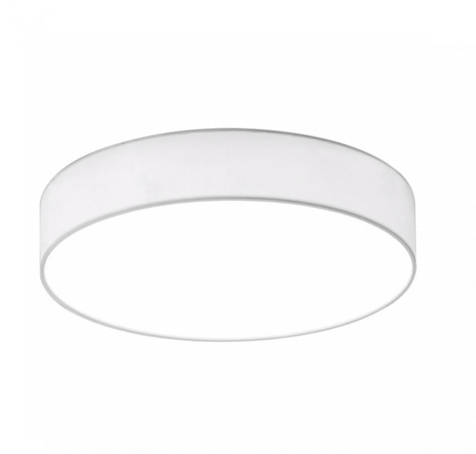 Plafoniera LED Lugano I, metal/tesatura,1 bec, alb, diametru 40cm, 230 V poza chilipirul-zilei.ro
