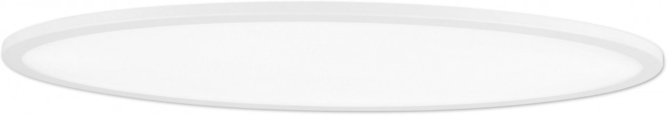 Plafoniera Sorrent, LED, metal, alba, 60 x 6 x 30 cm