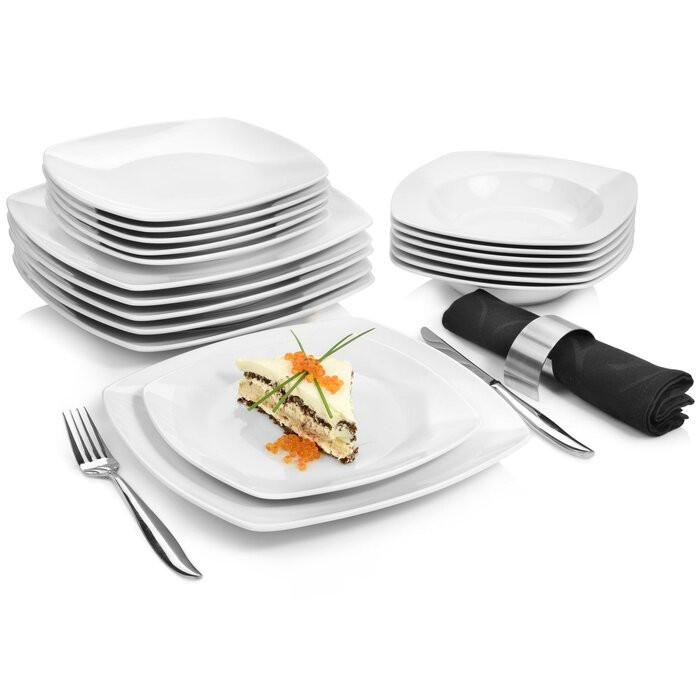 Serviciu pentru cina Markant, portelan, 18 piese imagine 2021 chilipirul zilei