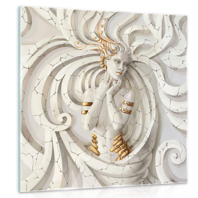 Tablou 'Medusa', 50 x 50 cm