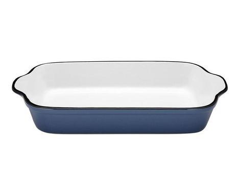 Tava rectangulara cu manere Mason blu 2021 chilipirul-zilei.ro