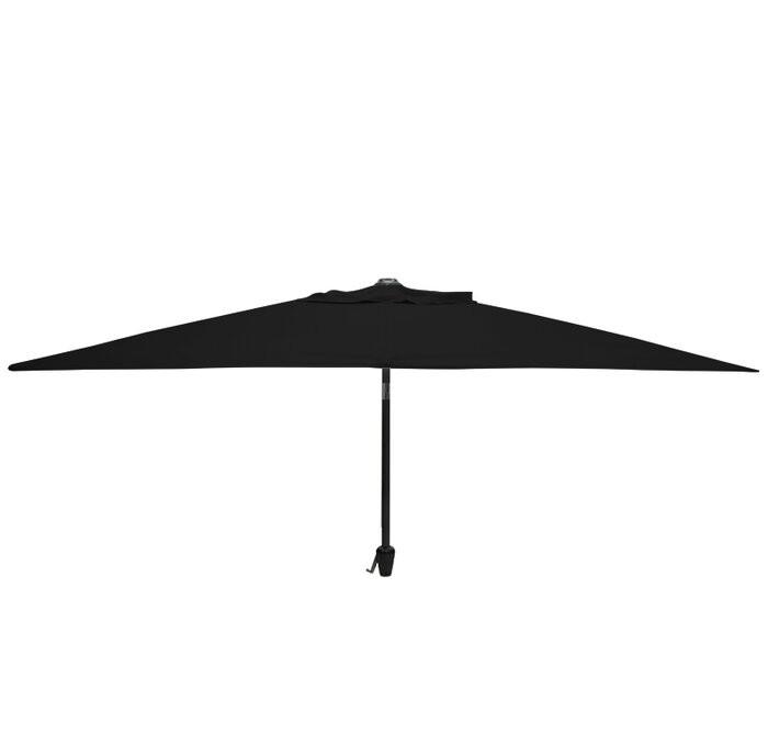 Umbrela rectangulara Alexa 2m x 3m, negru poza chilipirul-zilei.ro