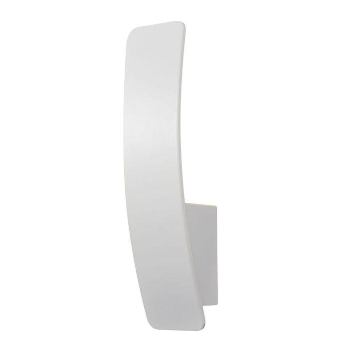 Aplica Stan, aluminiu, alba, 6 x 30 x 7 cm, 5w chilipirul-zilei.ro