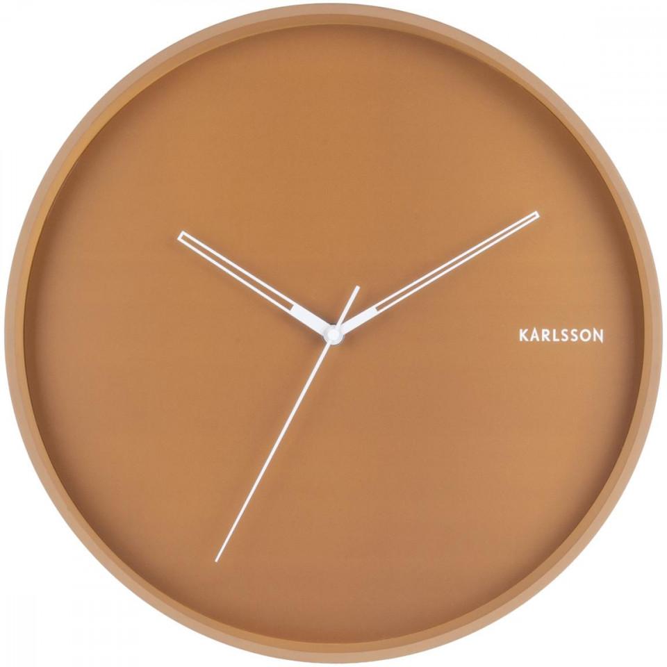 Ceas de perete Karlsson Hue, maro, 40 x 5 cm chilipirul-zilei 2021