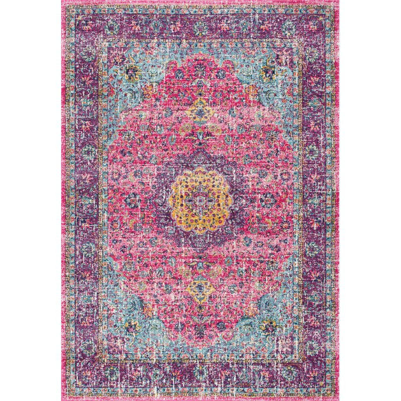 Covor Darcia, roz / violet, 152 x 226 cm chilipirul-zilei.ro