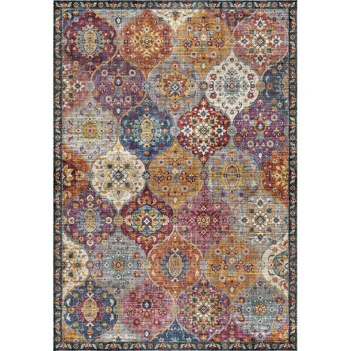 Covor Selkirk, Albastru/Violet, 120 x 170 cm