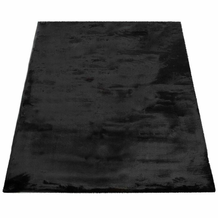 Covor Thrapst, Negru, 160 x 230 cm imagine chilipirul-zilei.ro