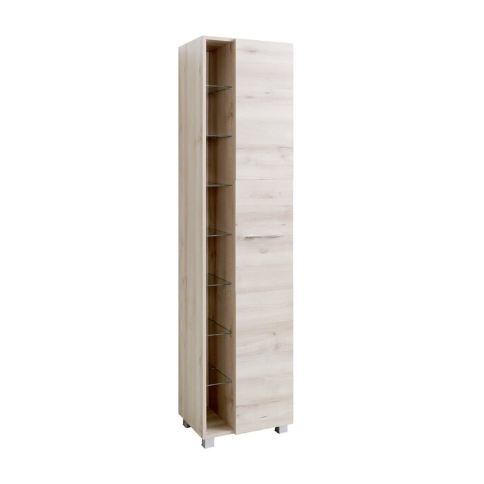 Dulap Typhon, PAL, crem, 185 x 45 x 35 cm