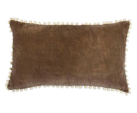 Fata de perna Avoriaz maro/alb, 30x50 cm