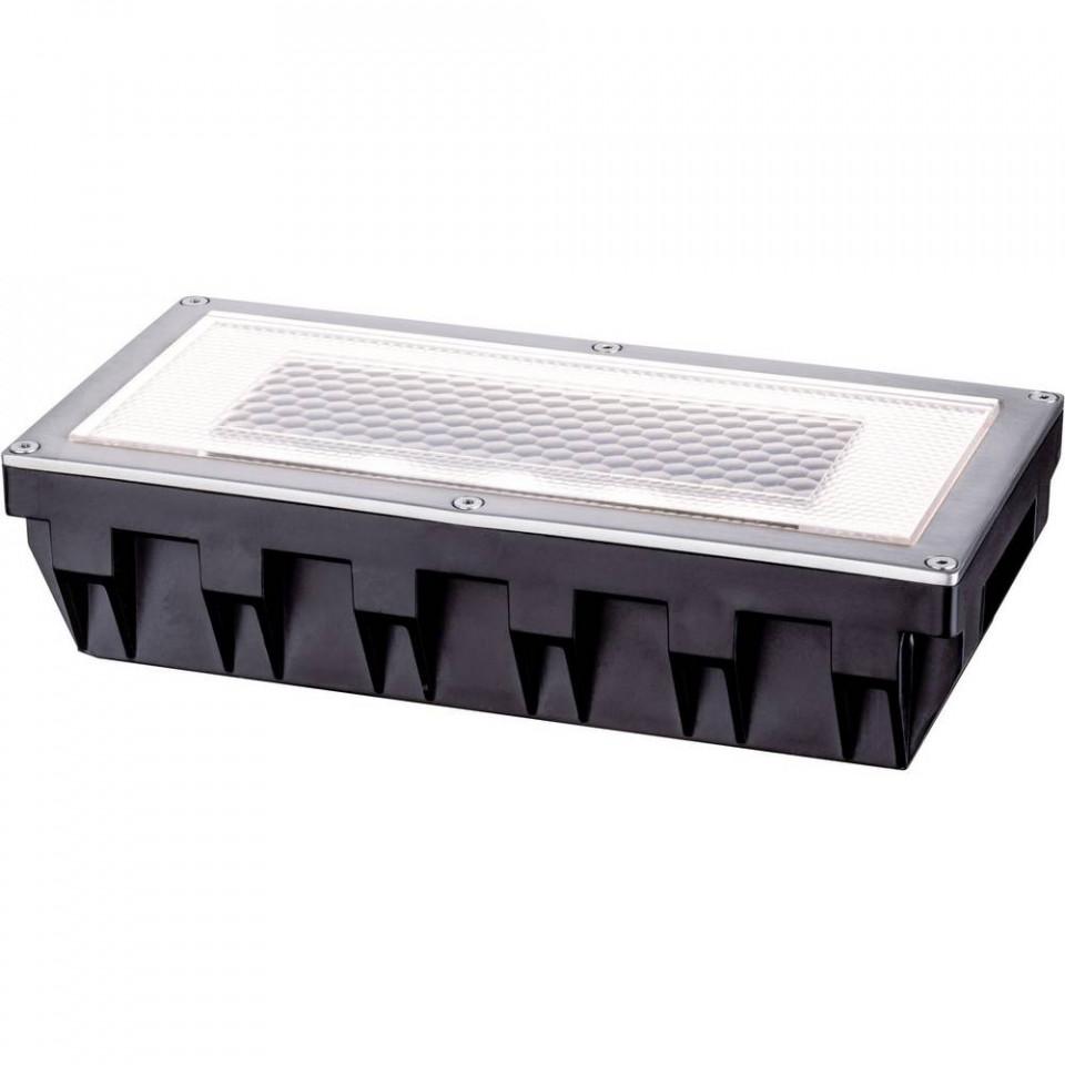 Lampa de exterior Solar Box, metal/plastic, neagra, 20 x 5 x 10 cm, 6w chilipirul-zilei.ro