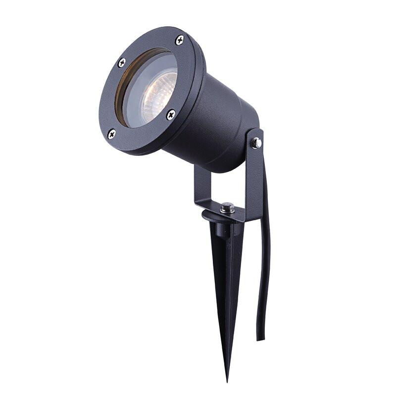 Lampa de gradina Socha din otel inoxidabil , negru