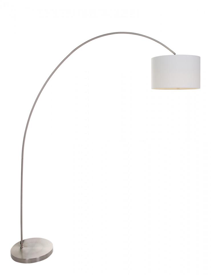 Lampadar Mexlite V, metal/textil, alb, 35 x 180 x 170 cm imagine 2021 chilipirul zilei