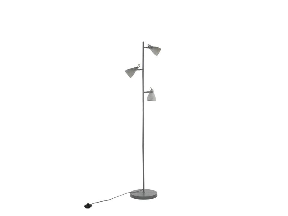 Lampadar Mistago, gri, 163 x 28 x 28 cm image0