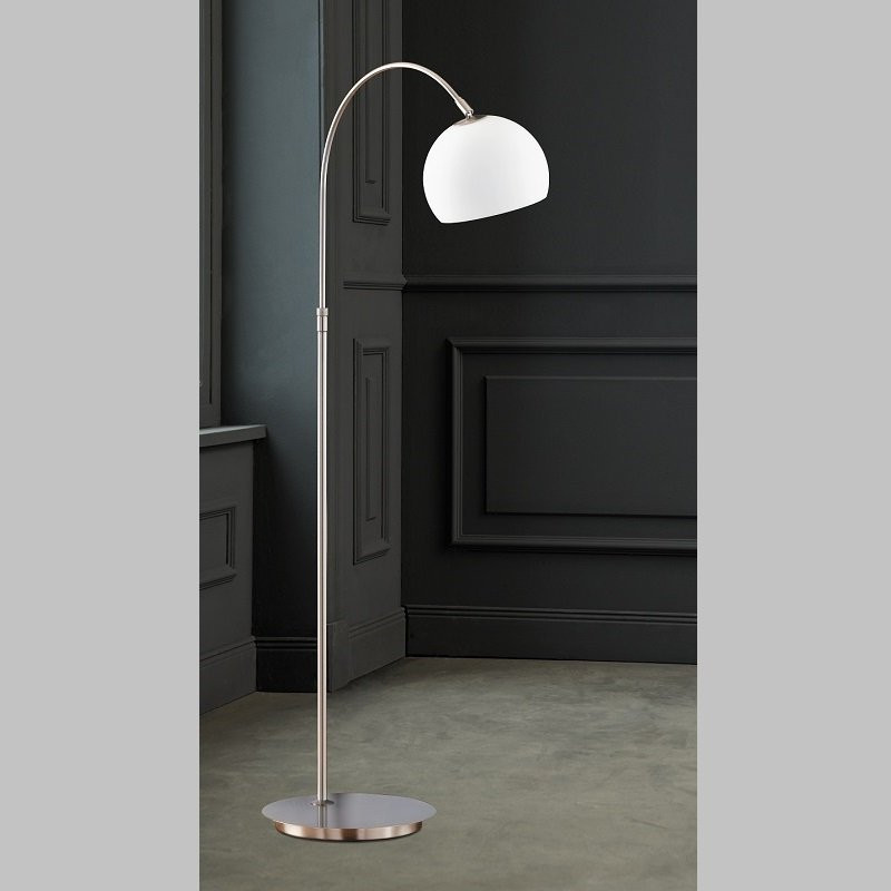Lampadar Timon, metal/sticla, 20 x 140 x 50 cm, 60w imagine 2021 chilipirul zilei
