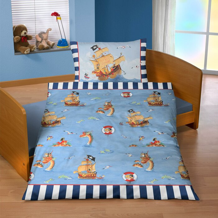 Lenjerie de pat pentru copii Renforcé, 100 x 135 cm chilipirul-zilei.ro