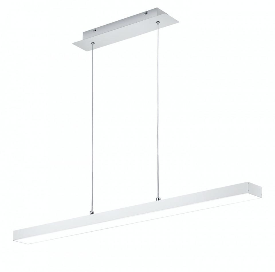 Lustra LED tip pendul Agano I aluminiu, 1 bec, alb, 230 V, 3000 K, 1800 lm