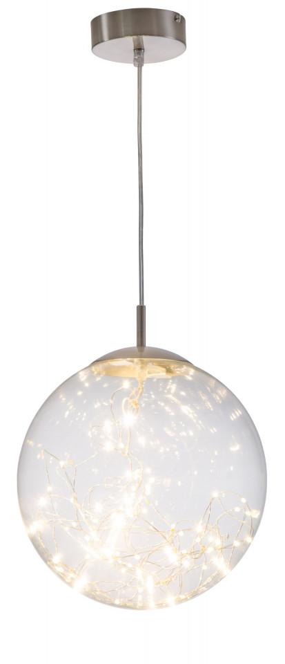 Lustra tip pendul, LED, sticla, 25 x 25 x 25 cm, 10w chilipirul-zilei.ro