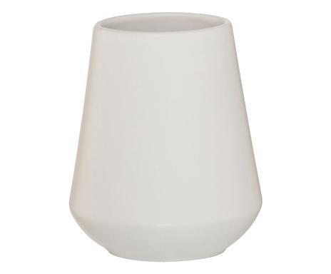 Pahar de baie Conical, alb