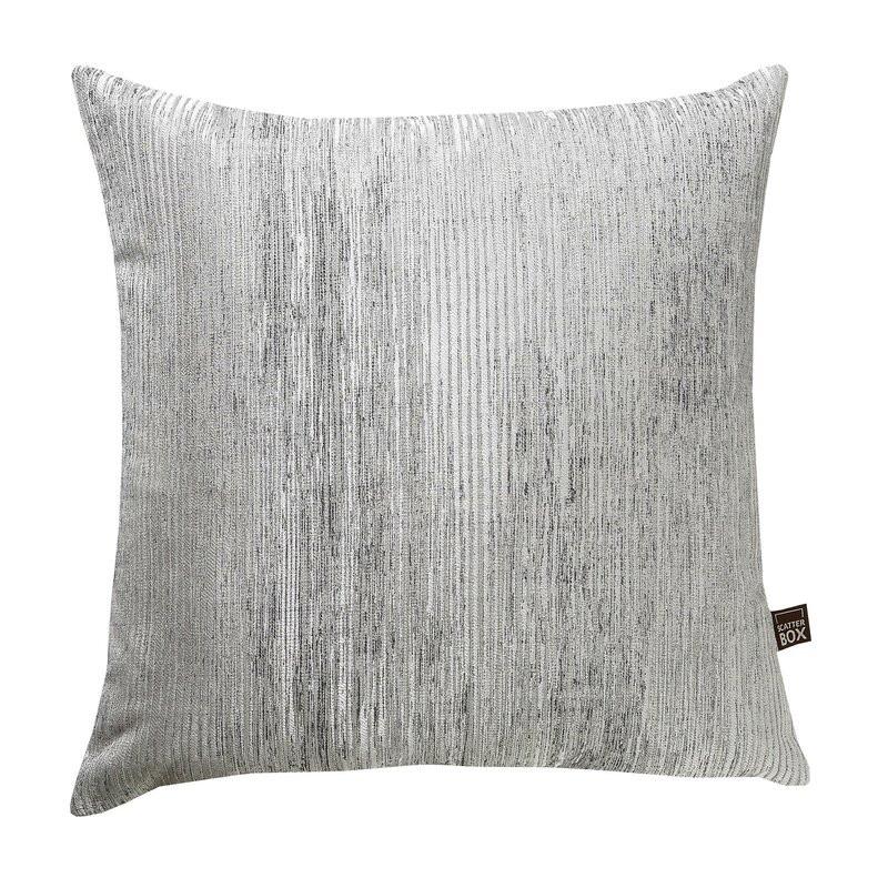 Perna Valencia argintie 43cm H x 43cm x 10 cm