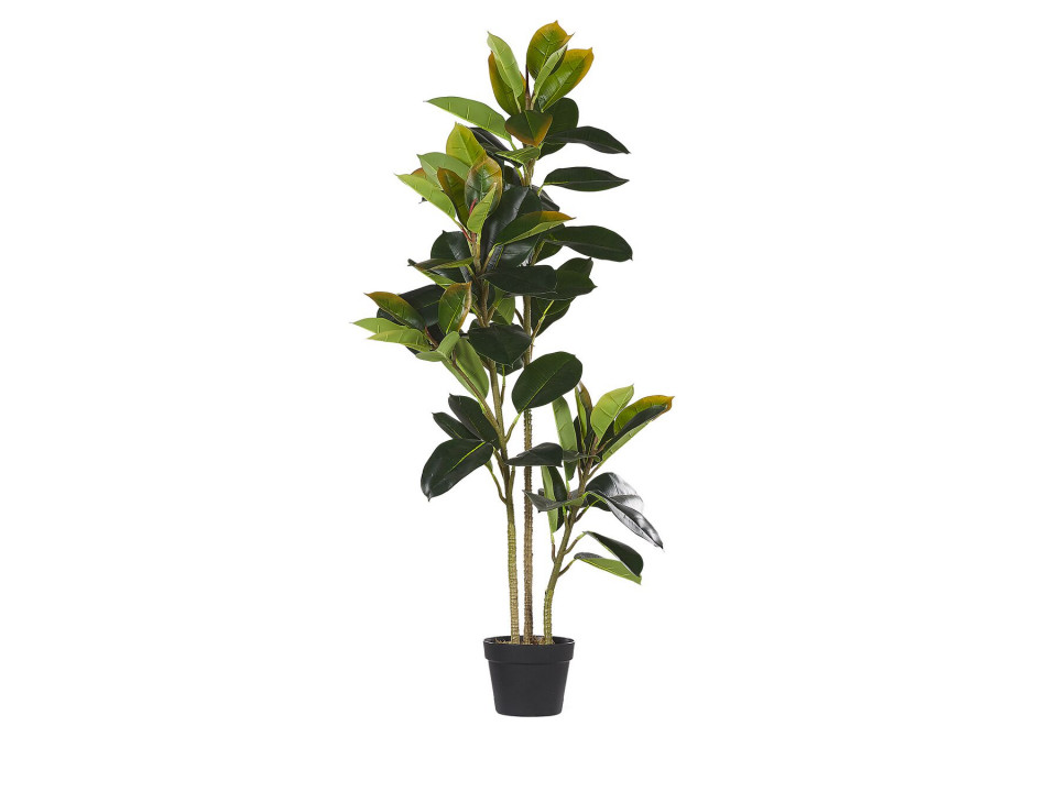 Planta artificiala FICUS, material sintetic, verde, 134 x 18 cm 2021 chilipirul-zilei.ro