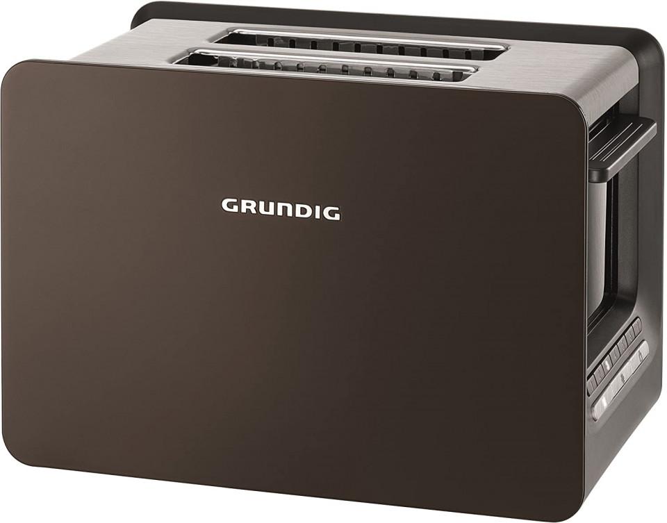 Prajitor de paine Grundig TA 7280 G Grey Sense 2-Schlitz Toaster imagine chilipirul-zilei.ro