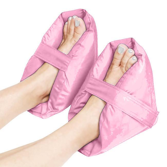 Set 2 pernute protectoare/relaxante pentru picioare, roz prafuit poza chilipirul-zilei.ro